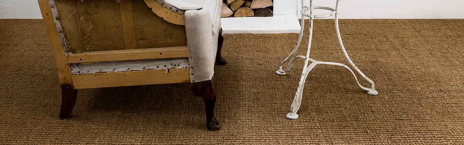 Natural coir carpet